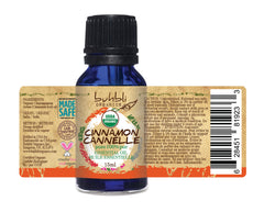Organic Cinnamon Leaf Essential Oil (15ml)