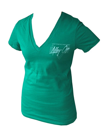 Alley Oop- Ladies Miami Tee V-neck