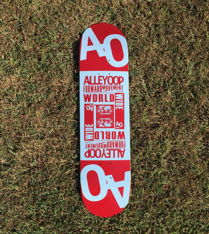 Alley-Oop Skate Deck