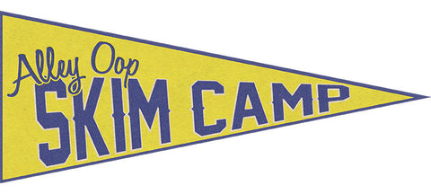 Skim Camp Sticker