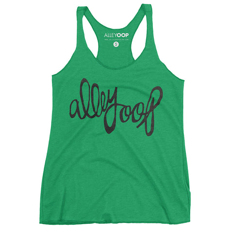Alley Oop Ladies Racer Tank