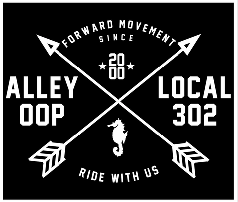 Alley Oop Local Sticker