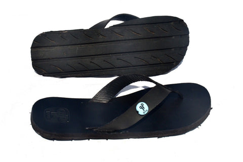 Men's Recycled Tire Sandals