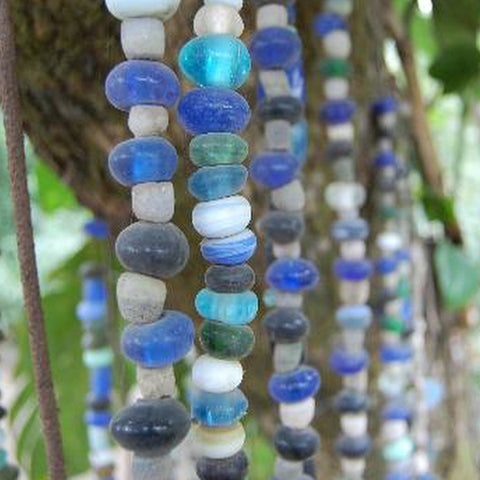 recycled powder glass beads