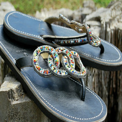 friendship beaded womens sandals
