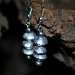 kili arusha recycled aluminum earrings