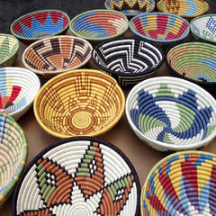 beautiful handwoven bowls