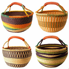 ghana bolga baskeet handcrafted fair trade
