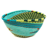 small triangle handwoven basket