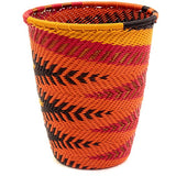 woven basket cup