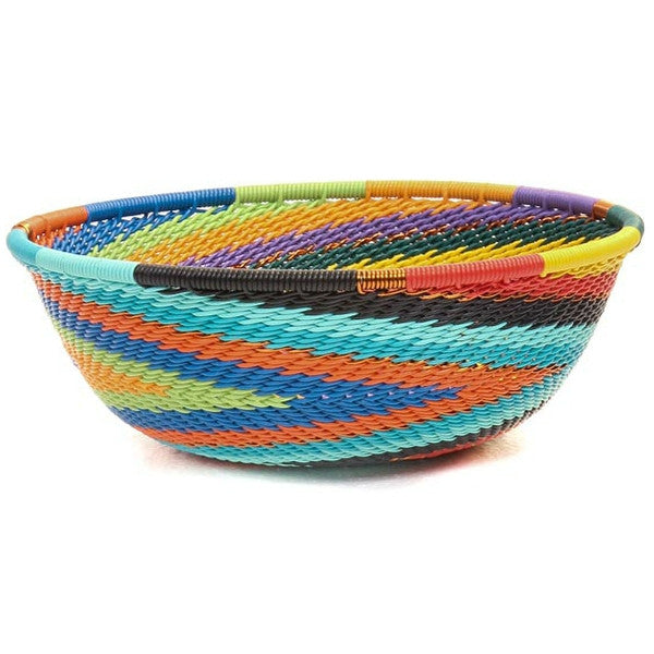 full rainbow design 5 in zulu basket