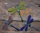 Handcrafted Glass Dragonflies - Fair Trade Jewelry
