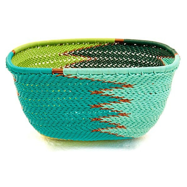 African Zulu Wire Basket - Medium 6.25\