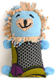 Handcrafted Little Friends Plush Animals - Blue Lion