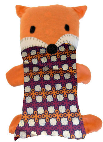 Handcrafted Little Friends Plush Animals - Orange Fox