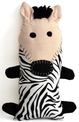Handcrafted Little Friends Plush Animals - Zebra