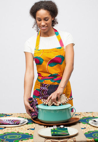 kitchen aprons 100 percent cotton