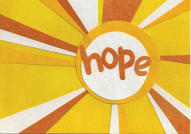 Handmade Greeting Cards - Rays of Hope