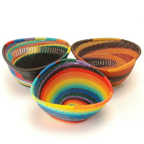 4 inch small triangular baskets
