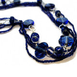 royal blue glass beads