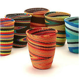 woven basket cups