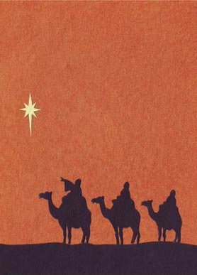 Handmade Greeting Cards - Wise Men from the East