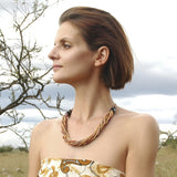 Handcrafted Zulugrass Multi-Strand Necklaces
