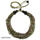 lady sunbird natural necklace zulugrass