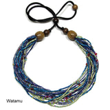 watamu zulugrass multi necklace