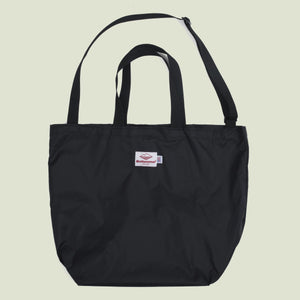 Battenwear Packable Tote Black x Black