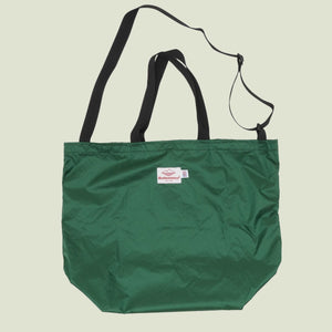 Battenwear Packable Tote Forest Green x Black