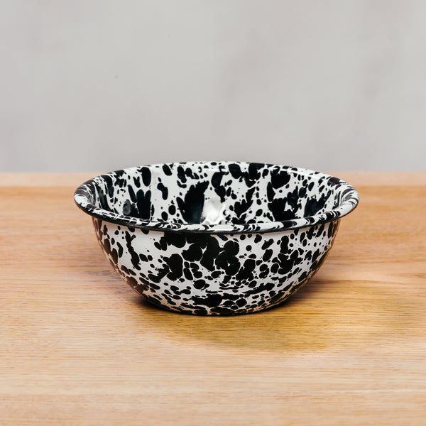Crow Canyon Cereal Bowl Black Marble