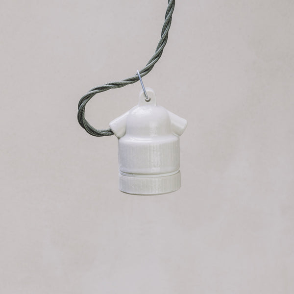 Dyke & Dean Ceramic E27 Festoon Bulb Holder