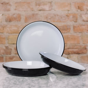 Falcon Enamelware Deep Plate Set of 4