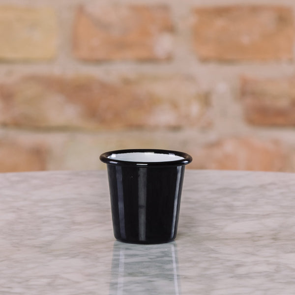 Falcon Enamelware Mini Tumbler Coal Black