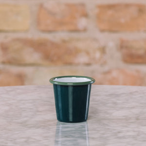 Falcon Enamelware Mini Tumbler Samphire Green