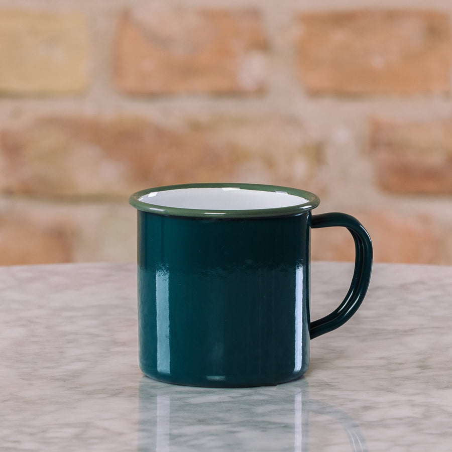 Falcon Enamelware Mug Coal Black