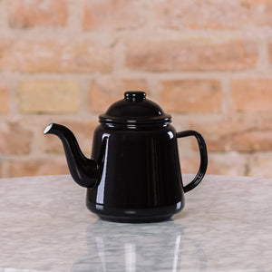 Falcon Enamelware Teapot Coal Black