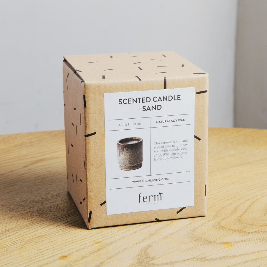 Ferm Living Scented Candle Sand
