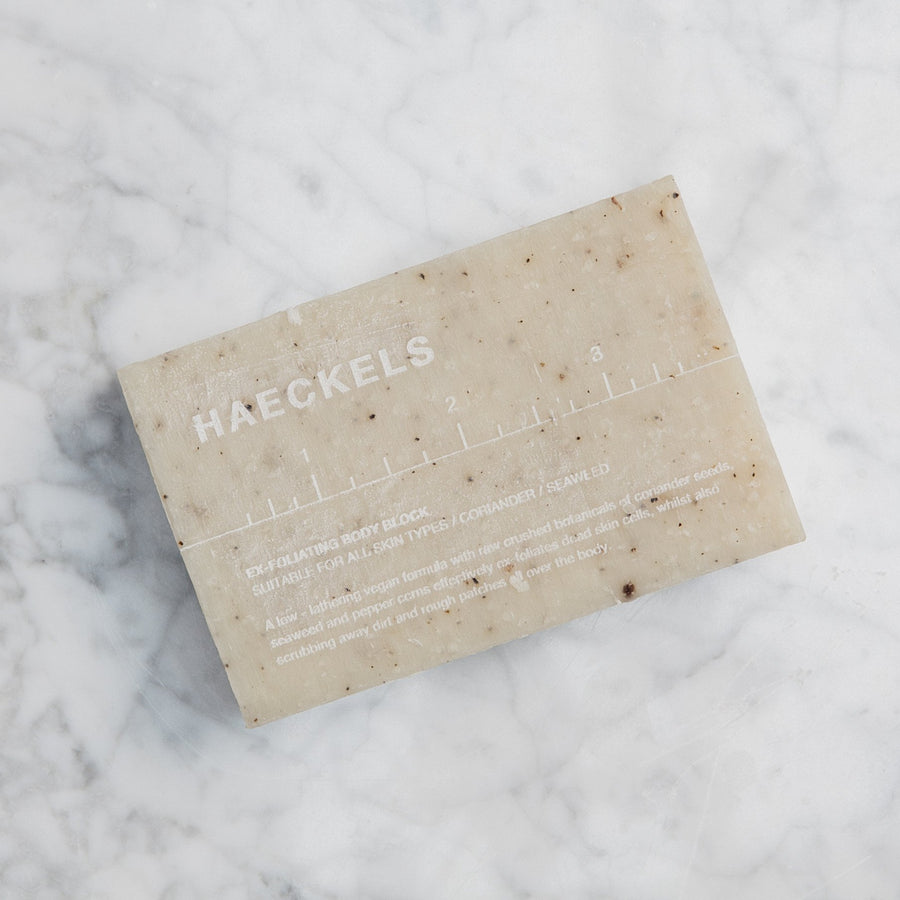 Haeckels Exfoliating Soap Block