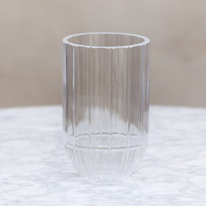 HAY Clear Glass / Medium Colour Vase
