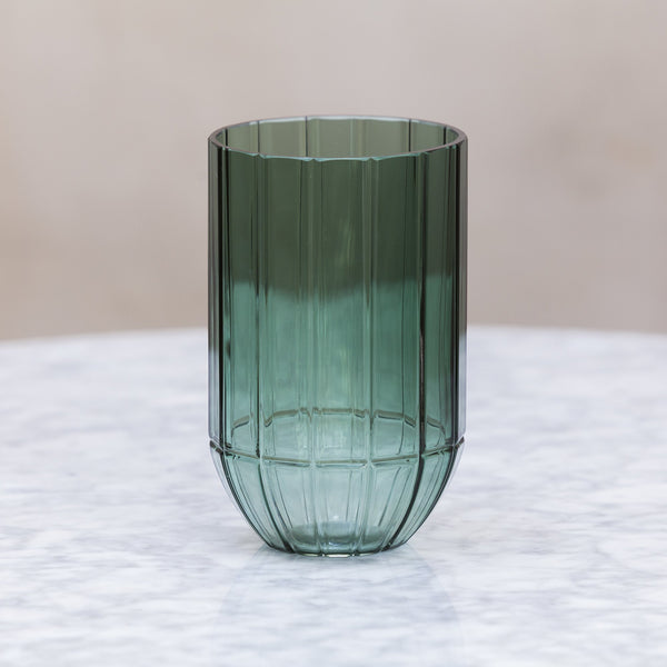 HAY Colour Vase Green Glass / Medium