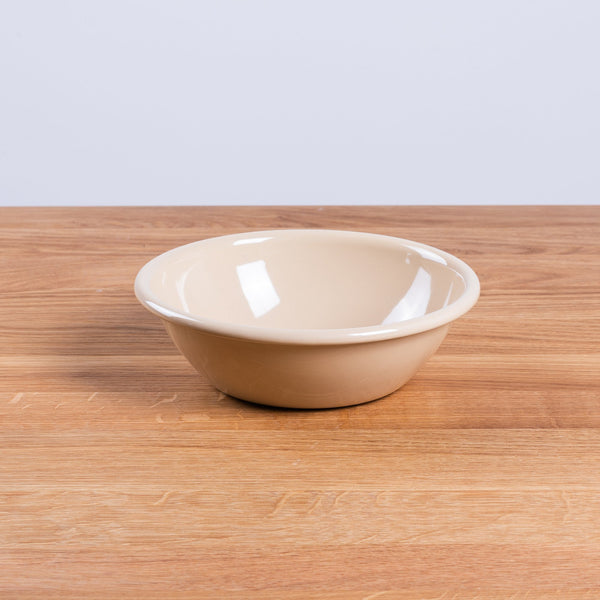 HAY Enamel Bowl Brown enamel