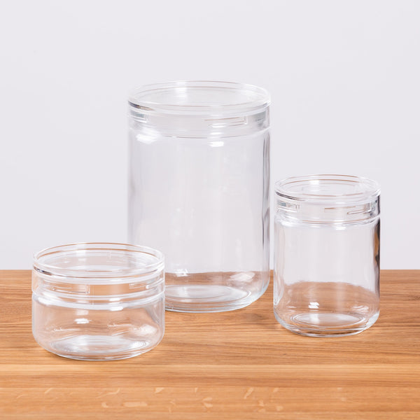 HAY Japanese Glass Jar Clear