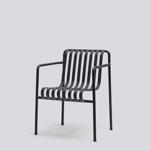 HAY Palissade Dining Arm Chair Anthracite