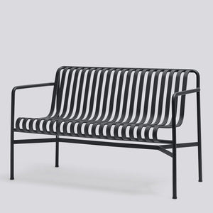 HAY Palissade Dining Bench Anthracite