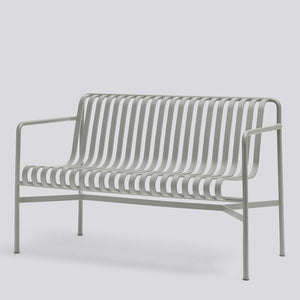 HAY Palissade Dining Bench Sky Grey