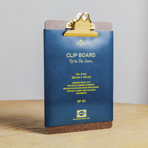 Hightide | Penco Clipboard A5 Gold