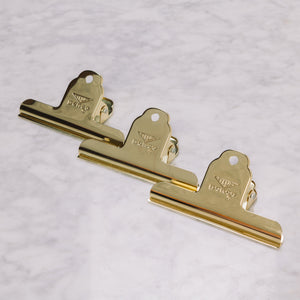 Hightide | Penco Gold Clips Set of 3