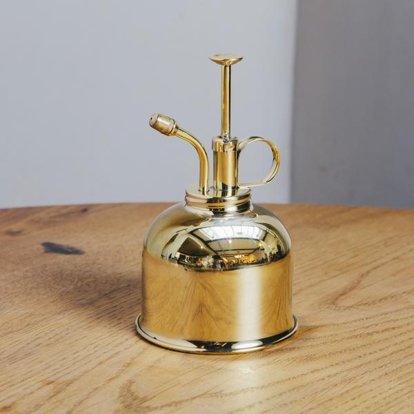 Kikkerland Brass Mist Sprayer